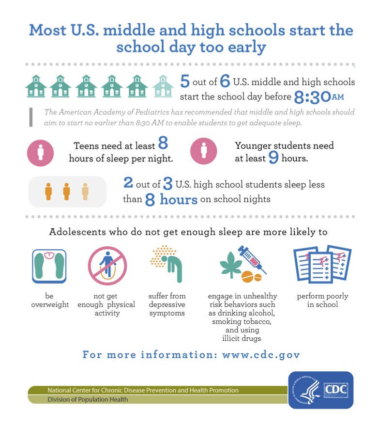 Matchless message on teen sleep issues when