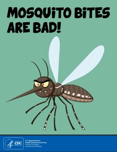 Mosquito bites aren't good, but you don't have to get panicked about them.
