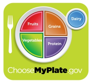 Follow the My Plate guidelines to make sure your kids are getting enough vitamins and minerals.
