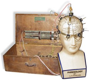 Is there any reason phrenology couldn't come back if practitioners could charge for treatments with an electric phrenology helmet?